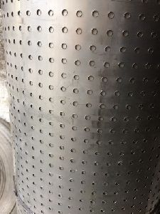 Perforated Stainless Steel Coil