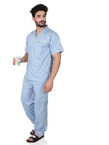 Mens Cotton Night Suit