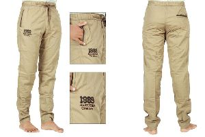 Mens Cotton Plain Track Pant