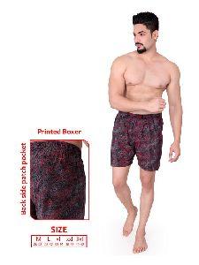 Mens Hosiery Printed Boxer