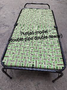 Double Pipe Double Niwar Folding Bed
