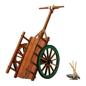 Indian Bullock Cart Model & Hand Tools