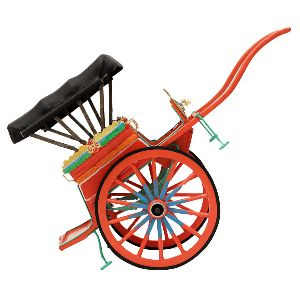 Indian Horse Cart Model