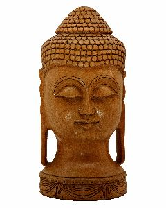 Lord Buddha Head Sculpture
