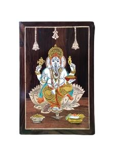 Wooden Lord Ganesha Wall Hanging