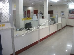 Bank Service Counter