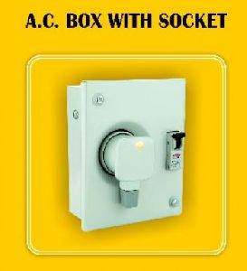 AC BOX WITH SOCKET