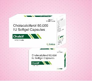 Cholecalciferol Softgel Capsules