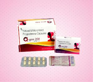 Natural & Micronised Progesterone Capsules