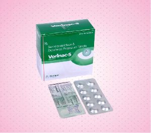 Serratiopeptidase & Diclofenac Potassium Tablets