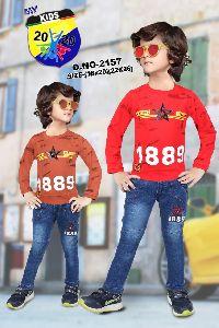 Boys Shorts & Jeans Set
