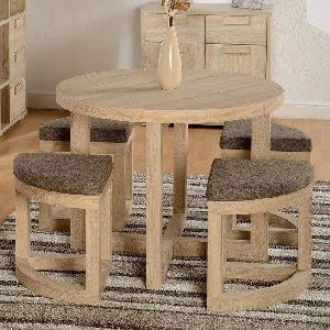 Dining Table and Stool Set