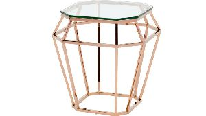 Octagonal Glass Table