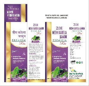 Neem Karela Jamun Premium Ras
