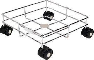 Stainless Steel Oil Square Trolley