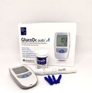 Gluco Dr. Auto A Glucometer with 25 Strips