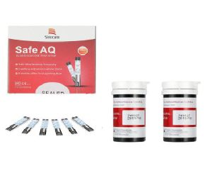 Safe AQ 50 Glucometer Strips