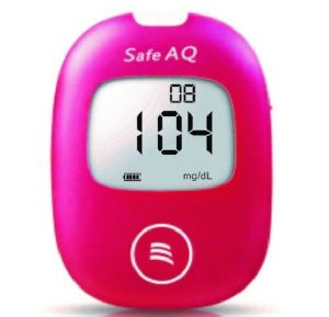 Safe AQ Glucometer with 25 Strips