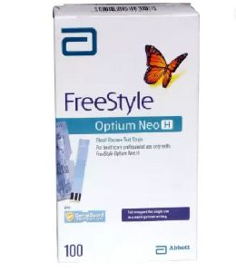 Optium Neo H 100 Glucometer Strips
