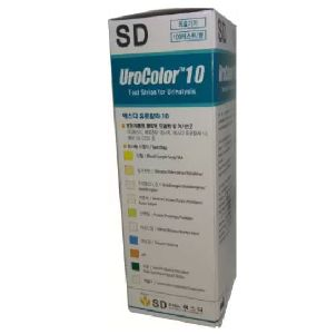 UroColor 10 Ph Test Strips 100
