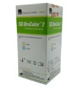 UroColor 2 100 Ph Test Strips