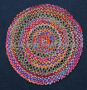 Round Shape Cotton Rugs