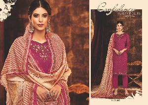 ALOK SUIT PRESENTS RAAGA COTTON FABRIC WITH HEAVY EMBROIDERY WORK SALWAR SUIT WHOLESALE DEALER