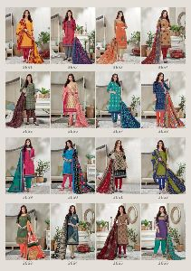 Balaji Cotton Present Spark Vol 15 Pure Cotton Fancy Designer Salwar Suits