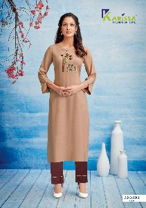 Karissa Rosemary Kurti with Pant