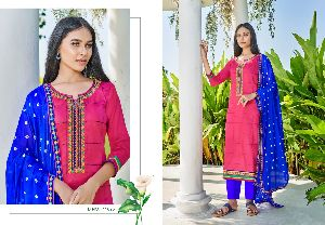 PANCH RATNA PRESENTS MOHINI JAM SILK WITH WORK SALWAR SUITS WHOLESALE DELAR SURAT