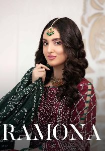 RAMONA LAUNCHED PURE JAM COTTON WITH ORIGINAL DIGITAL PRINT PAKISATNI SUITS WHOLESALE DEALER SURAT