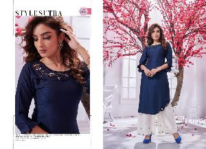 Selesta Innaya Vol 2 Kurti with Plazo Fancy Designer Ready to Wear Cloths