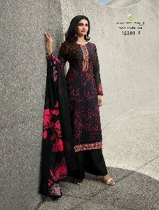 Vinay Crepe Digital Colour Plus Digital Printed Suit