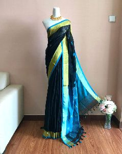 Linen Ball Butta Saree