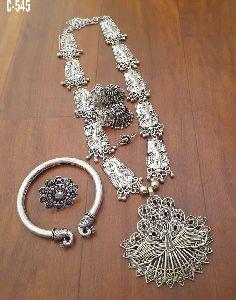 Oxidised Necklace