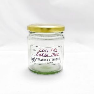 200ml Salsa Glass Jar
