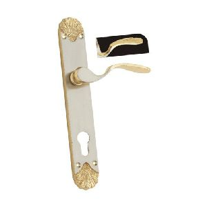 Designer Brass Mortise Handle Lock