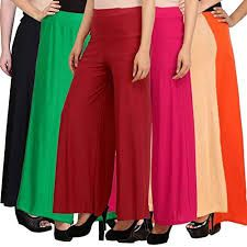 Ladies Plain Palazzo Pants
