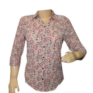 ladies printed shirts