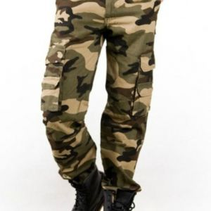 Mens Military Cotton Pants