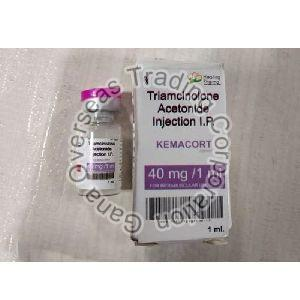 Kemacort triamcinolone acetonide 40 mg/ml Injection
