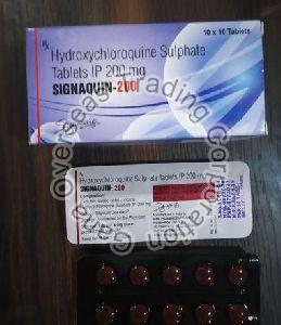 Signaquin  hydroxychloroquine sulphate 200 mg Tablets