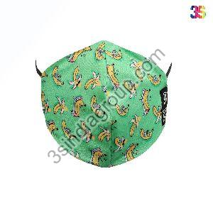 4 Layer Printed Face Mask