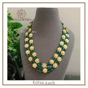 Kundan Beaded  Necklace