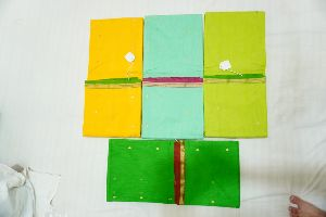 Cotton Chanderi Handloom Saree without Blouse