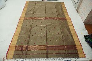 Pure Handloom Maheshwari Silk Cotton Saree