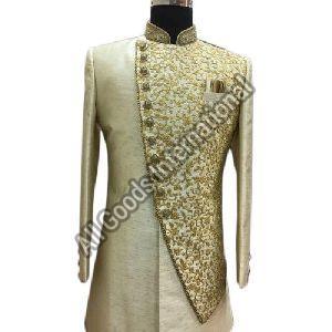 Mens Embroidered Sherwani