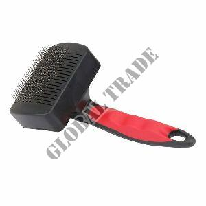 Dog Grooming Plastic Auto Slicker