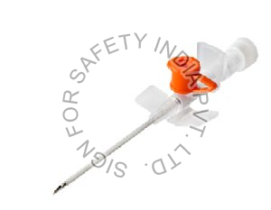 I.V. Cannula With Injection Port