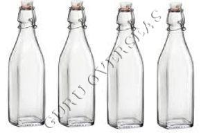 Glass Cork Bottle